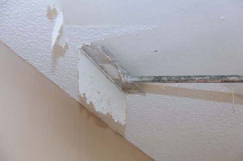 Popcorn Ceiling Removal The Painting